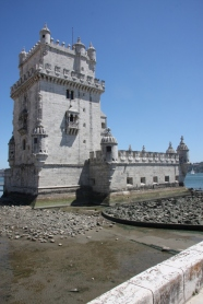 The waterfront monument in Lisbon