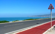 The long, winding road to Guincho Coast seems taken out of a movie