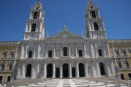The palace-monastery of Mafra is the most important baroque monument in Portugal