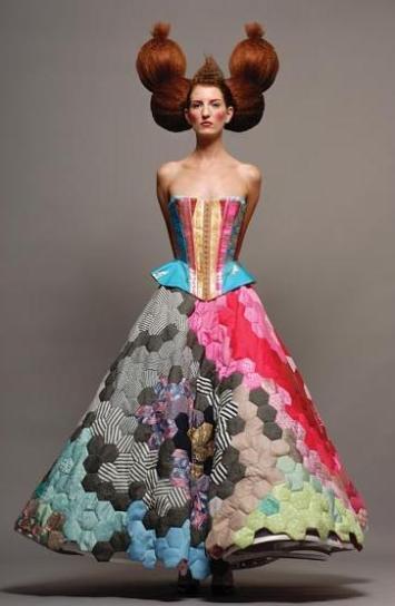 storytailors portuguese fashion designers dress vestido patchwork corset