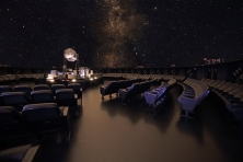 The Calouste Gulbenkian Planetarium offers a fun trip into deep space and the universe