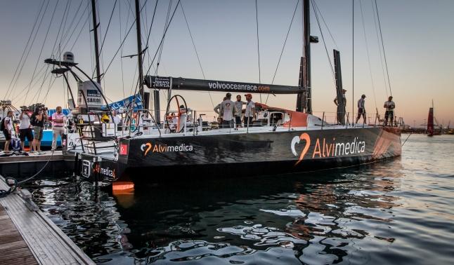 Leg 0 Alicante - Volvo Ocean Race 2014-2015