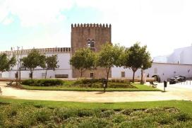 A view of the Palácio Cadaval in Évora, Portugal.