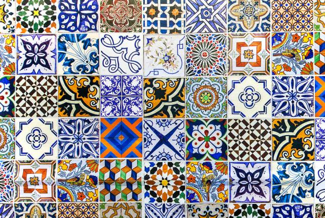 Portuguese tiles give any building a charming and individual touch