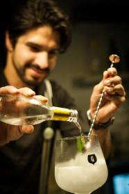 Gin Lovers Príncipe Real added a new twist to how Gin was being served in Lisbon