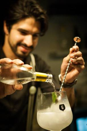 Gin Lovers PríncipeReal added a new twist to how Gin was being served in Lisbon